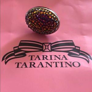 Tarina Tarantino Large Volcano Pave Ring
